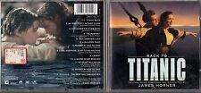 Back to TITANIC OST CD colonna sonora soundtrack 1997 JAMES HORNER CELINE DION