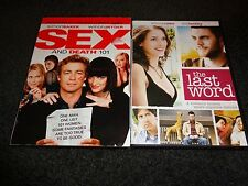 SEX AND DEATH 101 & THE LAST WORD-2 DVDs-WINONA RYDER, SIMON BAKER,WES BENTLEY