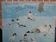 for the ELTON JOHN BLUE MOVES 1976  fan who has/everything!ALBUM COVER NOTEBOOK
