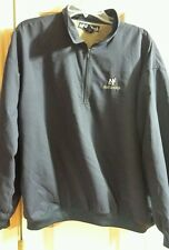 Big Dogs Blue 1/4 Zip Pullover Jacket Mens Size Large