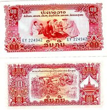 LAOS LAO Billet 10 KIP ND PATHET GOVERNMENT P20 KING SAVANG NEUF UNC