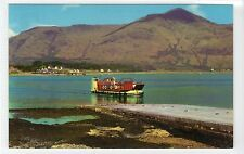 CORRAN FERRY AND BEN KEIL, INVERNESS-SHIRE: Shipping postcard (C17402)