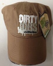 Dirty Jobs With Mike Rowe Adjustable Hat Get Ready To Get Dirty Head Wear NEW