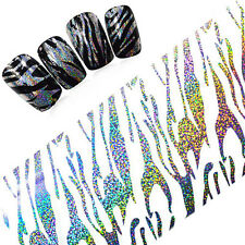 1 Roll Starry Nail Foil Art Holographic Glitter Strips Manicure Sticker Decal