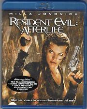Blu-ray DISC MILLA JOVOVICH RESIDENT EVIL AFTERLIFE