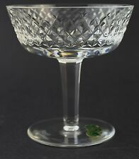 Signed Waterford Cut Irish Crystal Alana Champagne Tall Sherbet Glasses