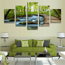 Waterfalls Modern Wall Decor Canvas Picture Art HD Print Painting Oil Painting