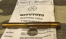 mitutoyo micrometer shaft carbide tipped p/n 950745 new old stock metric 106
