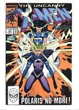 Uncanny X-men #250 Chris Claremont Marc Silvestri Wolverine Polaris 9.2