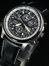 New Citizen Promaster Sky PMV65-2272 Eco-Drive Solar Atomic Perfex From Japan