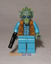 Lego Custom Greedo Star Wars Minifigure BRAND NEW cus247