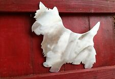 Yorkshire Terrier, Yorkie, Tree Topper, Holiday Decoration, Aluminum