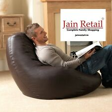 Repose™ Leatherette XXL bean bag cover without beans. Free home delivery. bpx
