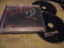 EWAN MacCOLL : ANTIQUITIES 2 CD ALBUM 30 TRACKS 1998 MY OLD MAN THE GROCER