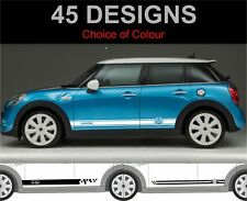 bmw mini 4 door 5 door side stripe decals mini mini cooper