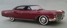 BRK208a 1965 Buick Wildcat 4 Door Hardtop Maroon/Black