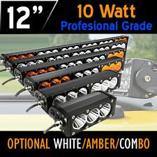 PRO LED Work Light Bar– 60w 12 Inch- CREE 10w LED's 12v,24v,4x4 4WD Offroad Work