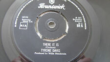 NORTHERN SOUL -TYRONE DAVIS-  THERE IT IS -  BRUNSWICK BR 6  EX.