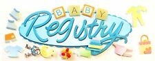 Baby Registry Title Diapers Outfits Baby Bottle  Jolee's 3D Stickers