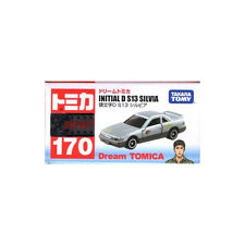 Takara Tomy Dream Tomica #170 Initial D Nissan S13 Silvia Diecast Toy Car JAPAN