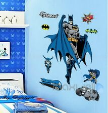 Large Batman Hero Wall Decals Removable Sticker Kids Art Nursery Home Decor
