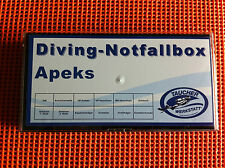 Diving Notfallbox für Apeks Atemregler Service spare parts