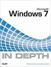In Depth Ser.: Microsoft Windows 7 in Depth by Robert Cowart and Brian...