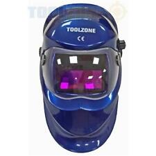 Toolzone máscara de soldadura casco oscurecimiento variable Cortina auto