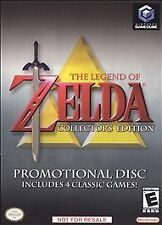 The Legend of Zelda Collector's Edition, (GameCube)