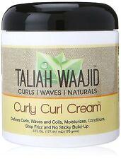 TALIAH WAAJID CURLY CURL CREAM /AFRO HAIR CARE /HAIR TREATMENT 6oz