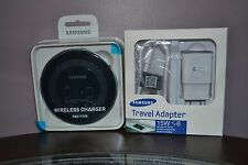 OEM Wireless FAST Charging Pad Black Galaxy S6/edge S7/Edge Note5 +Fast Charger