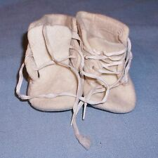 Vintage Trimfoot Co. Baby Deer 100% Wool Baby Shoes USA As Is