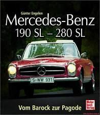 Fachbuch Mercedes-Benz 190 SL – 280 SL, Vom Barock zur Pagode, NEU