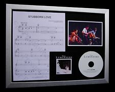 THE LUMINEERS Stubborn Love LTD CD QUALITY MUSIC FRAMED DISPLAY+FAST GLOBAL SHIP