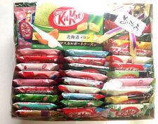 Japan kitkat NESTLES kit kats 35P RARE flavors SAKE MELON custard Pudding candy