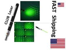 CLUB pen ---- Dance Floor DJ Pointer ---- Rave or Disco Party -- green pattern