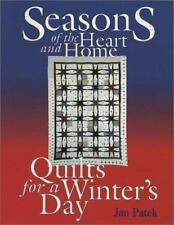 Quilts for a Winter's Day (Seasons of the Heart & Home)-ExLibrary