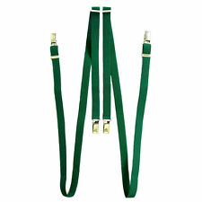 Relco Narrow 1/2 inch Mid Green Braces/Suspenders Skin/Mod/Punk