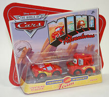 Disney PIXAR Cars Mini Adventures Lightning McQueens Team McQueen & Mater