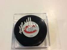Kirk Muller Signed Montreal Canadiens Habs Hockey Puck Autographed a