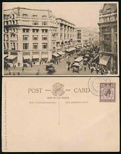 GB 1929 PUC CONGRESS POSTMARK on LONDON OXFORD CIRCUS PPC BEAGLES CARD