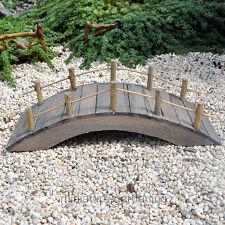 Miniature Fairy Garden Wooden Bridge