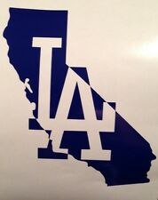 Los Angeles LA Dodgers California MLB Baseball Vinyl Decal Sticker #ITFDB