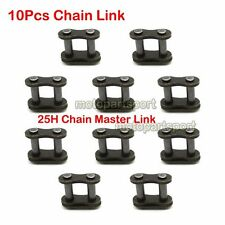 25H Chain Master Link 10pcs For Mini Moto Quad Pocket Bike Gas E Scooter Go Kart