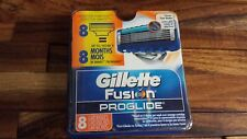 "Gillette Fusion Proglide Razor Refill Blades 8 Cartridges ""Open package"""