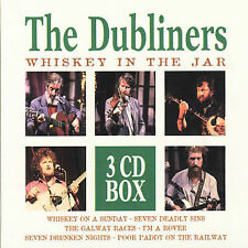 Whiskey in the Jar by The Dubliners (3 CD box set, Oct-1996, Disky)