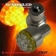 2 ampoule 19 led orange PY21W BAU15S 1056  120°