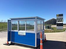 New 6'x8' Security Guard Shack / Ticket or Valet Parking Booth / Portable Office