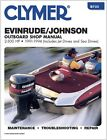 CLYMER EVINRUDE JOHNSON OUTBOARD 1.6 SEA DRIVE MOTOR SERVICE REPAIR MANUAL 91-94