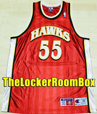 NEW authentic Dikembe Mutombo Hawks Taglia XL SZ 48 NBA maglia jersey Basket